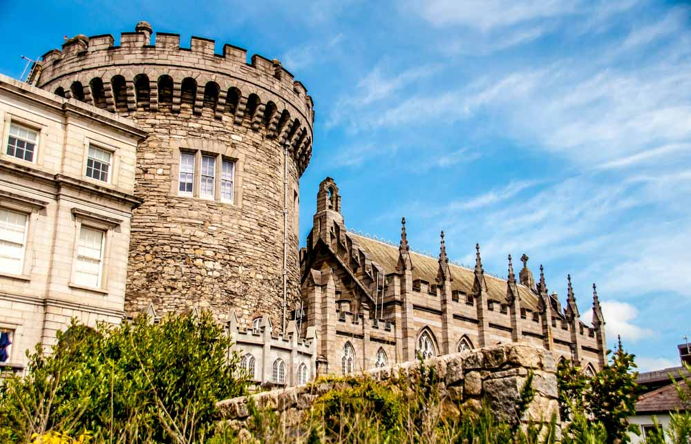 Dublin Castle is one of the best places to see in 3 days