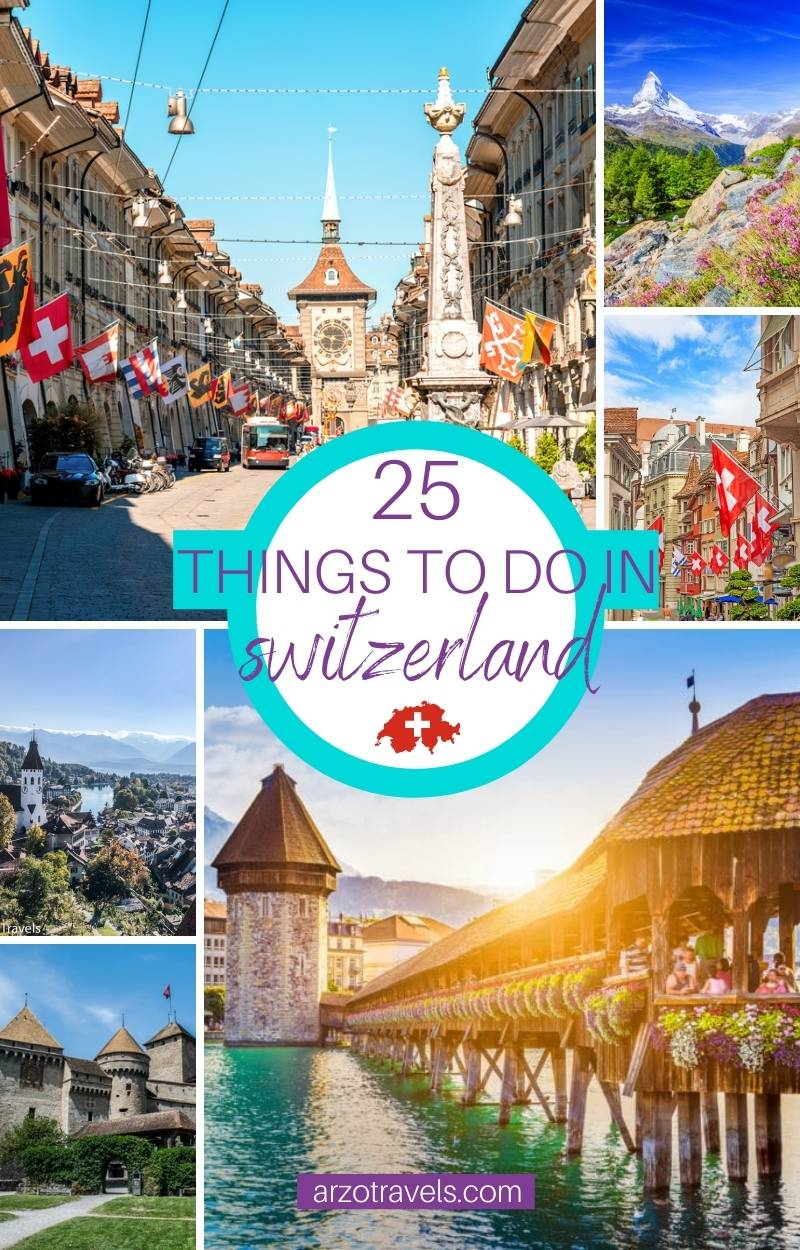 EPIC THINGS TO DO IN SWITZERLAND, Arzo Travels