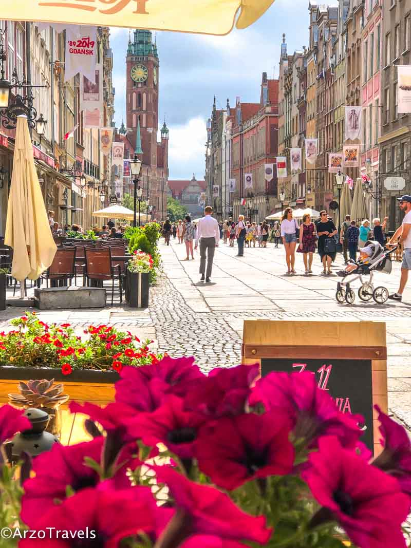 Long Street Gdansk is one of the best places to visit in Gdansk
