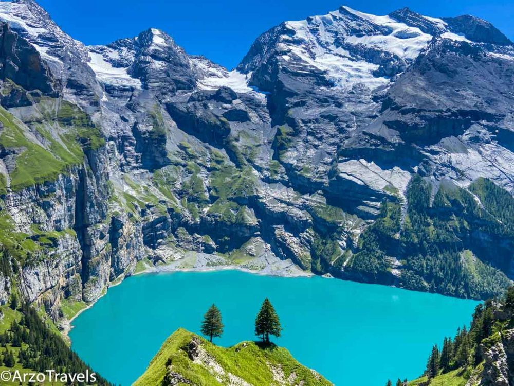 Oeschinensee hike, Heuberg a top thing to do in Interlaken, Arzo Travels