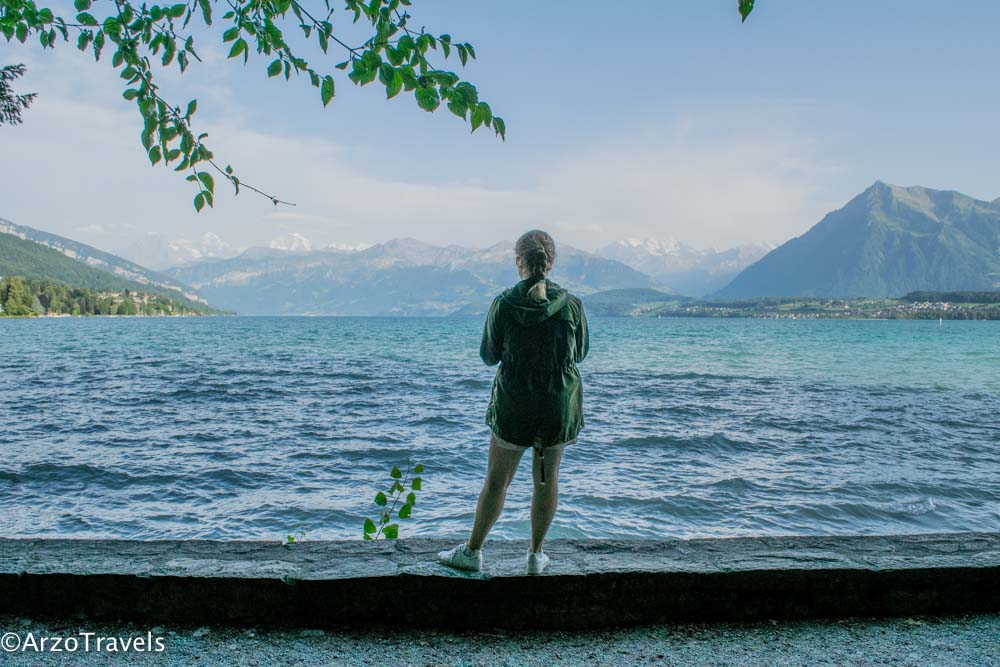 Schadau Park at Lake Thun is a great place_