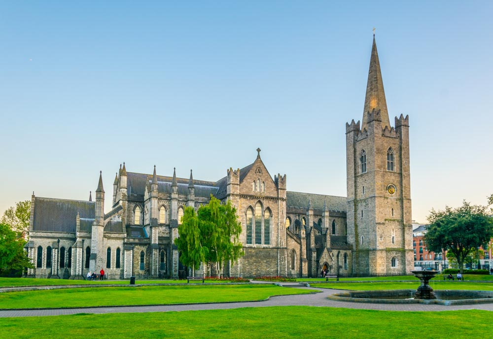 St. Patrick's Cathedral in Dublin, Ireland is a must-see in 3 days