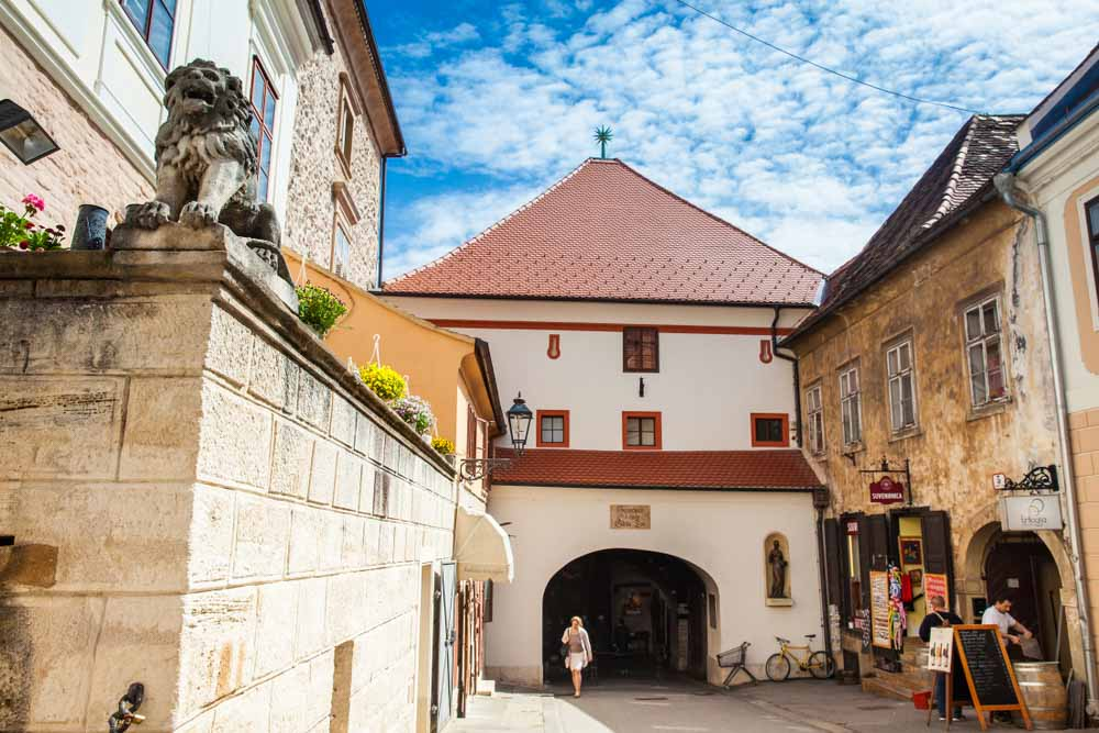 Stone Gate located at Upper Town of Zagreb built in the 13th century for your 2-day Zagreb itinerary