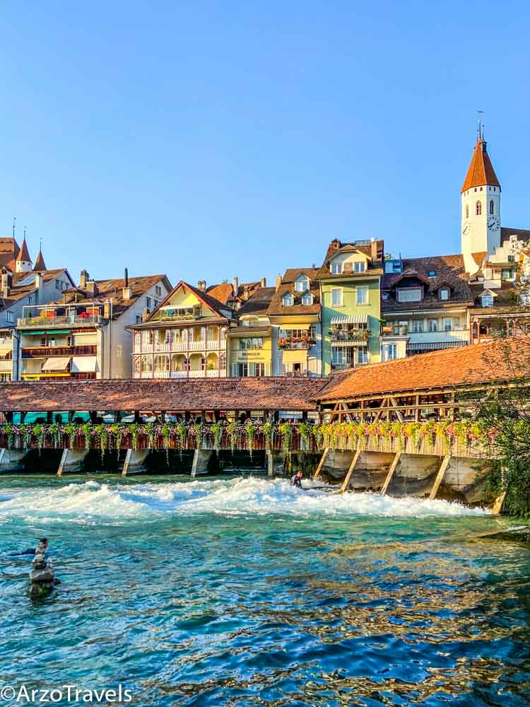 Surfing in Thun Arzo Travels