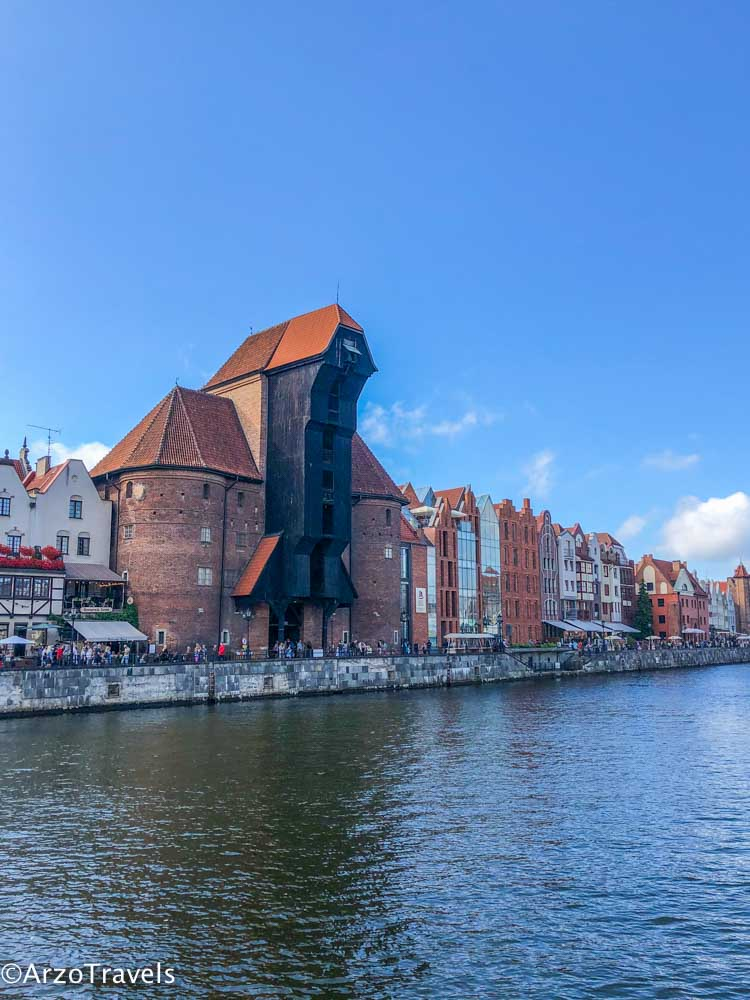 The Crane in Gdansk is one of the best things to do in Gdansk