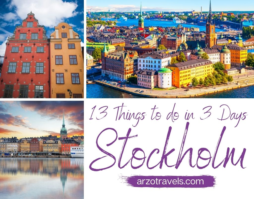 Fun and Easy 3 Days in Stockholm Itinerary
