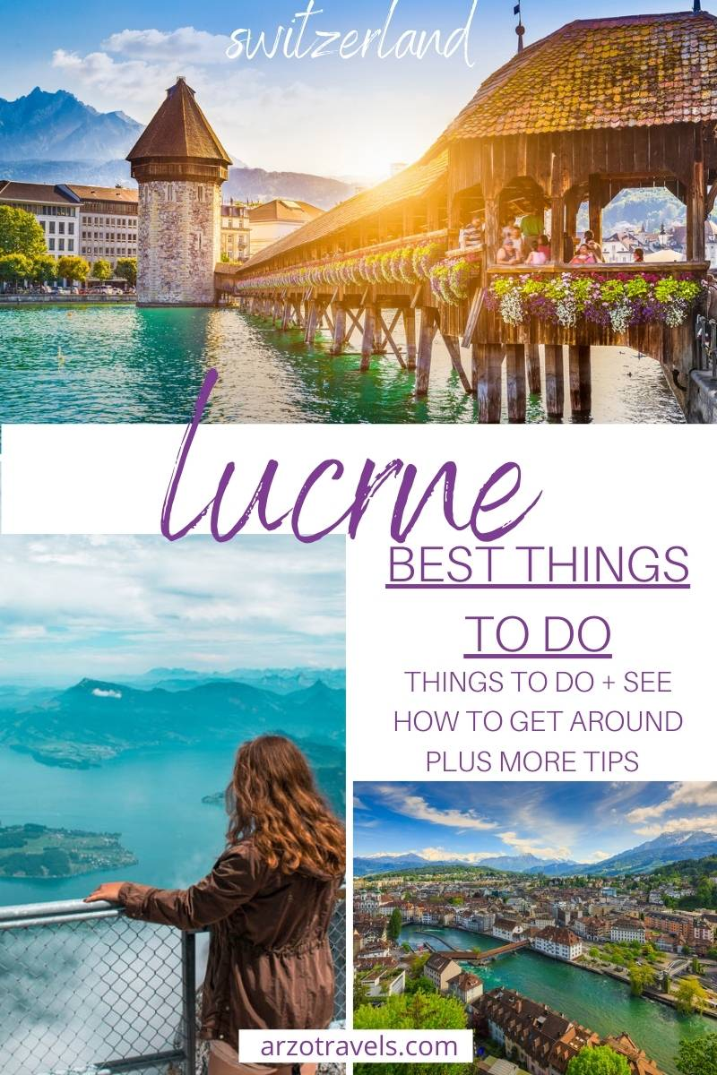 Things to do in Lucerne, itinerary, Arzo Travels