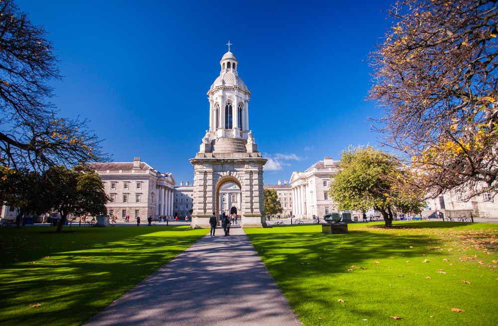 Trinity College, Dublin 3-day itinerary