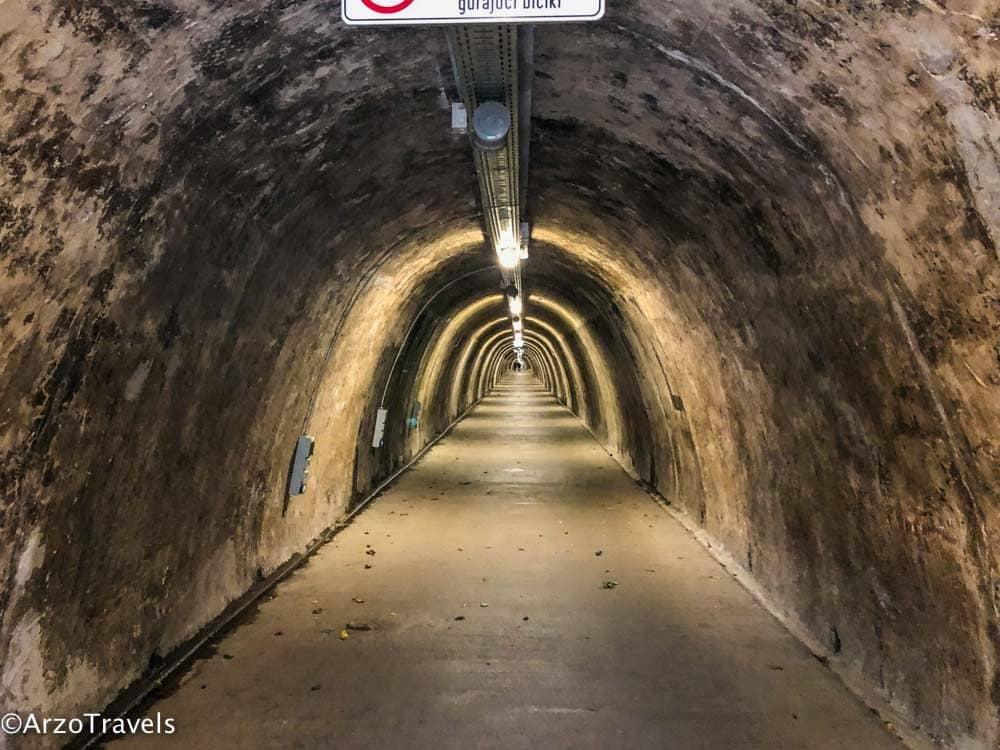 Tunnel in Zagreb