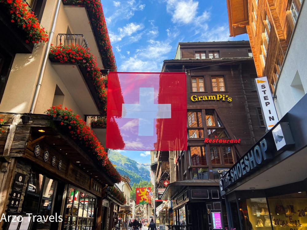 Zermatt old town with Arzo Travels