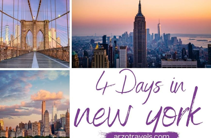 Best Things to do in New York in 4 Days