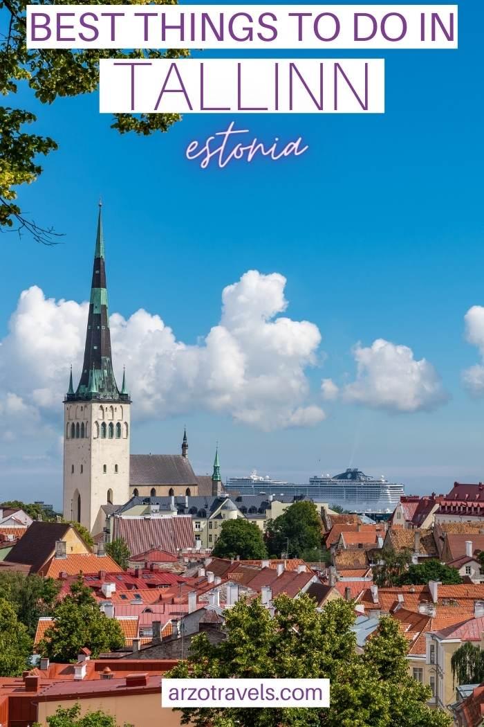 Best things to do in Tallinn, Estonia, Arzo Travels
