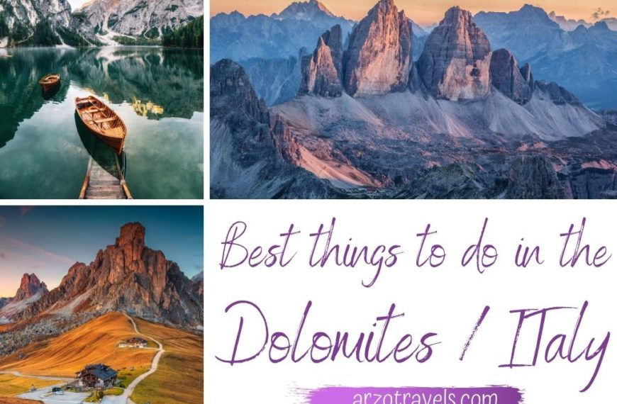 Amazing & Epic Things to do in the Dolomites, Italy