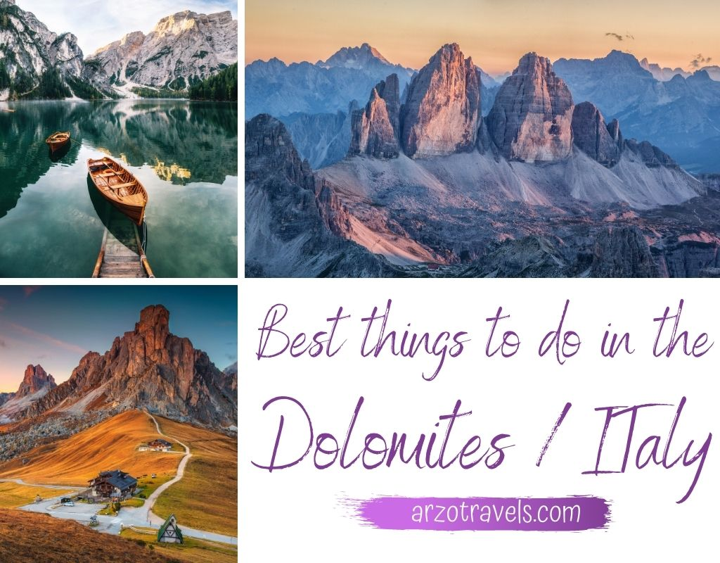 Best things to do in the Dolomites, Italy
