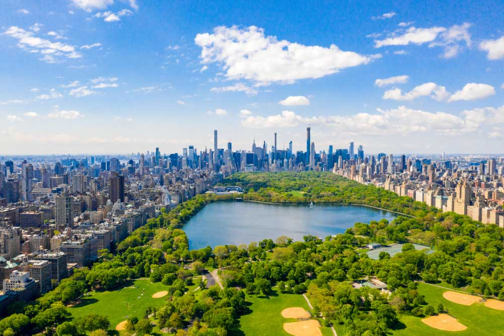 Central park in New York - what to do in NY in 4 days