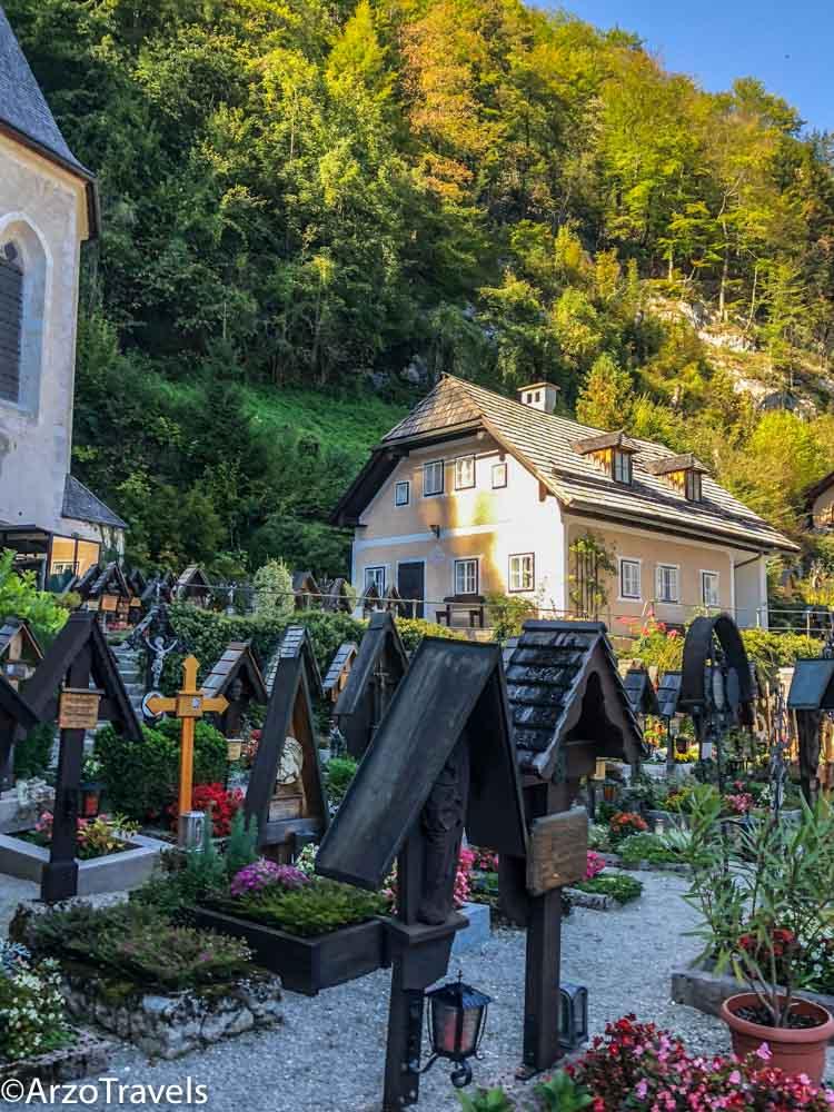 Hallstatt cemetery visit in one day
