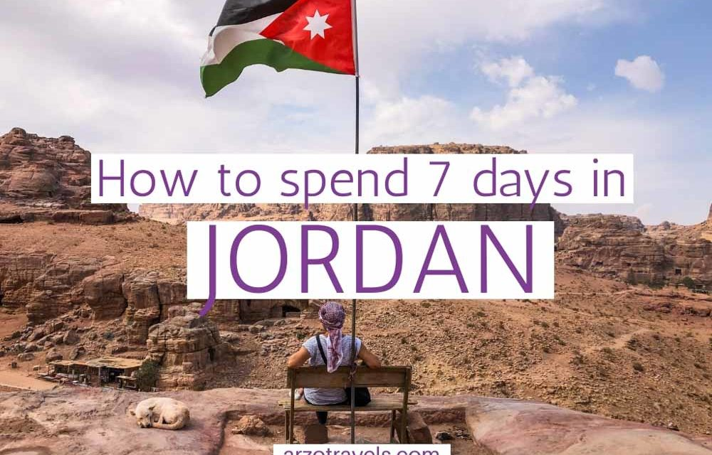Best One-Week Jordan Itinerary for an Amazing Trip