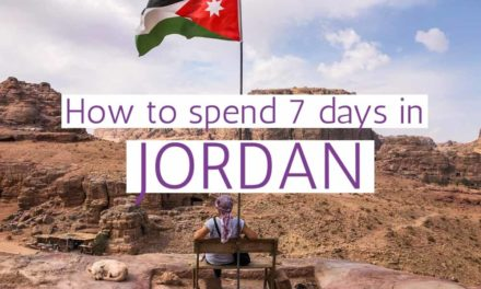 Best Jordan Itinerary for an Amazing One-Week Trip
