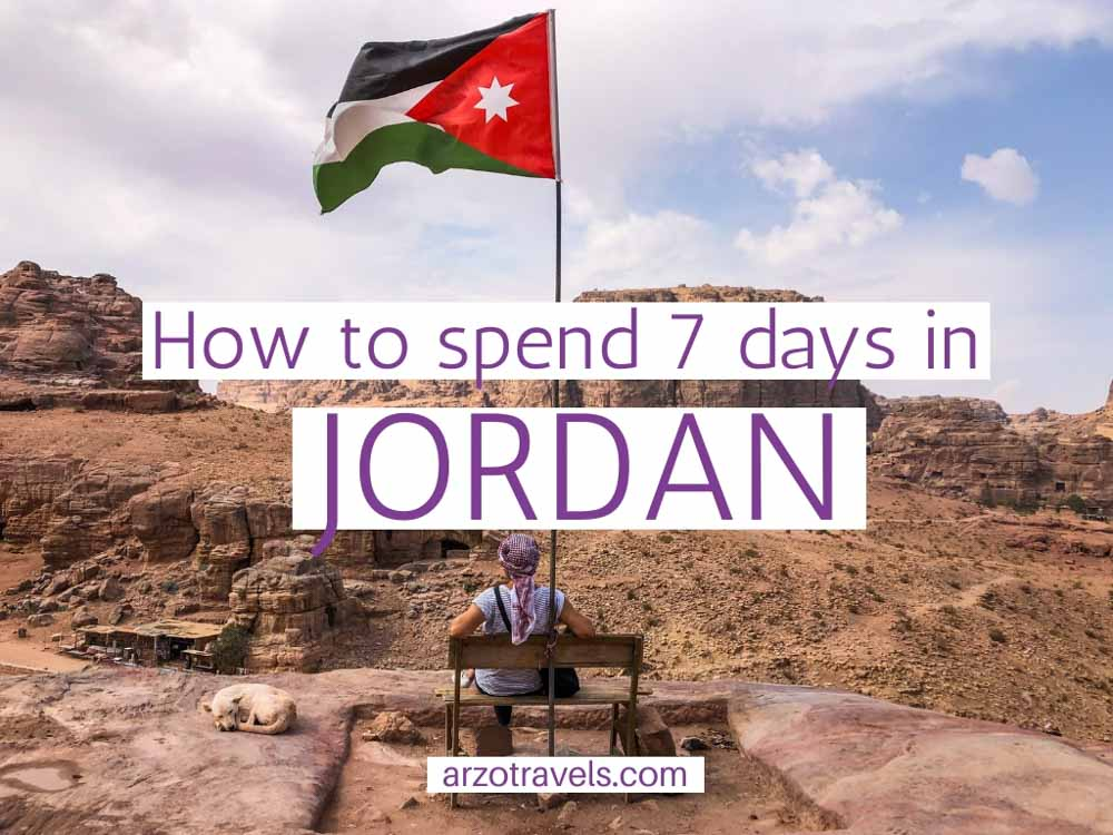 How to spend 7 days in Jordan. An Itinerary