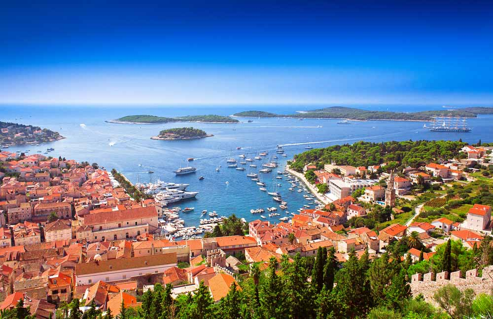 Hvar is one of the best places to stay in Croatia