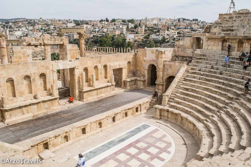 Jerash Theater in Jordan