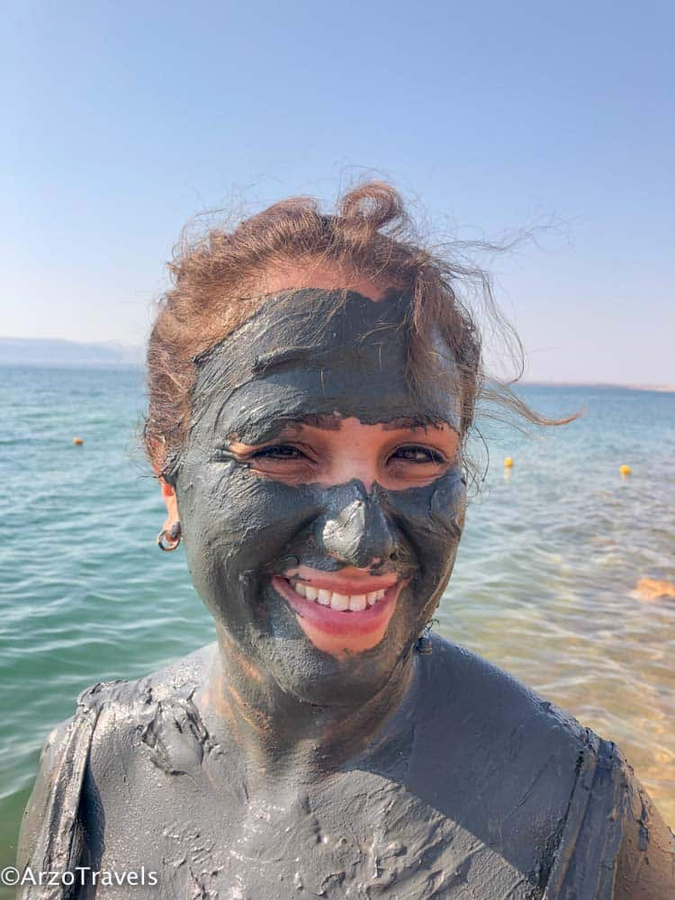 Mud at the Dead Sea, Jordan
