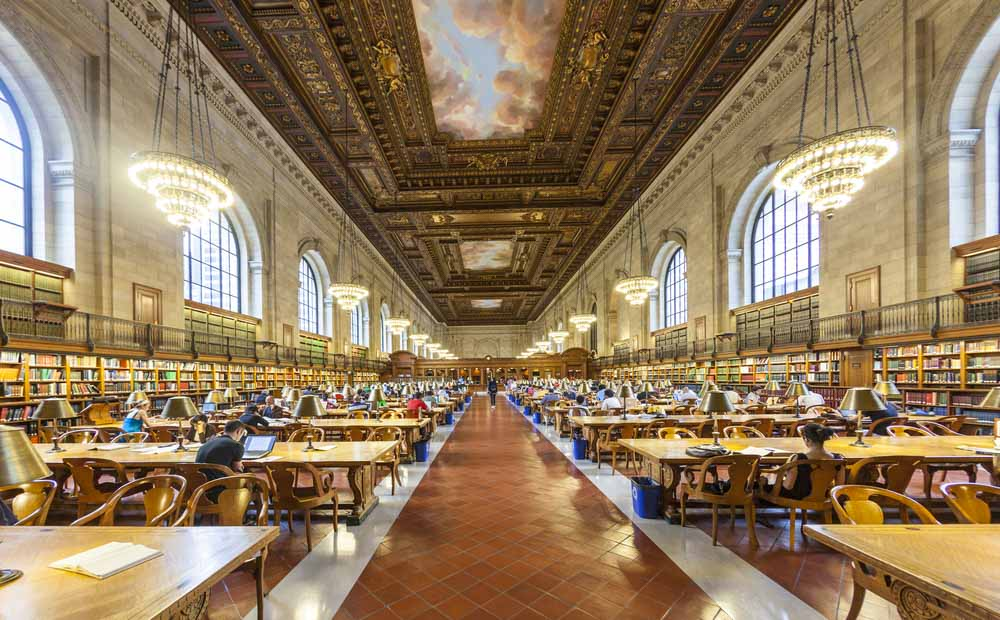 New York Public Library a must on a 4-day NY itinerary