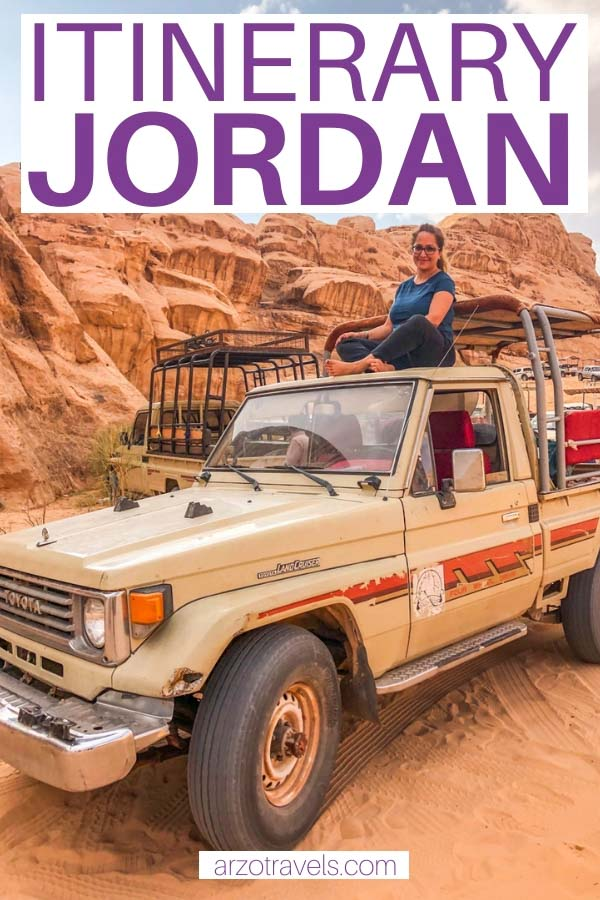 best places to visit in 7 days in Jordan, itinerary_