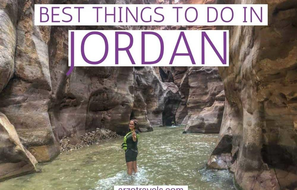 Things to do in Jordan