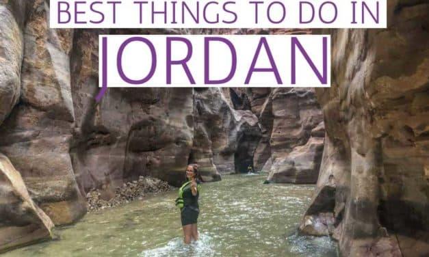 Best Things to do in Jordan