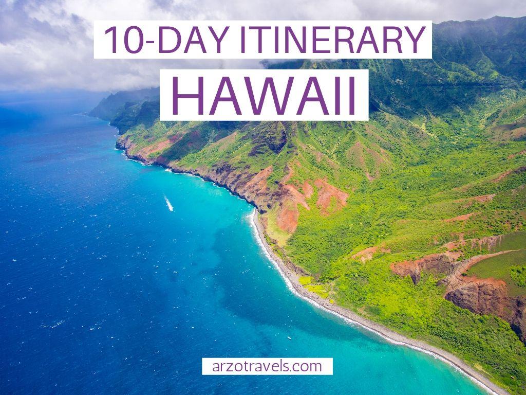 10-day Hawaii itinerary