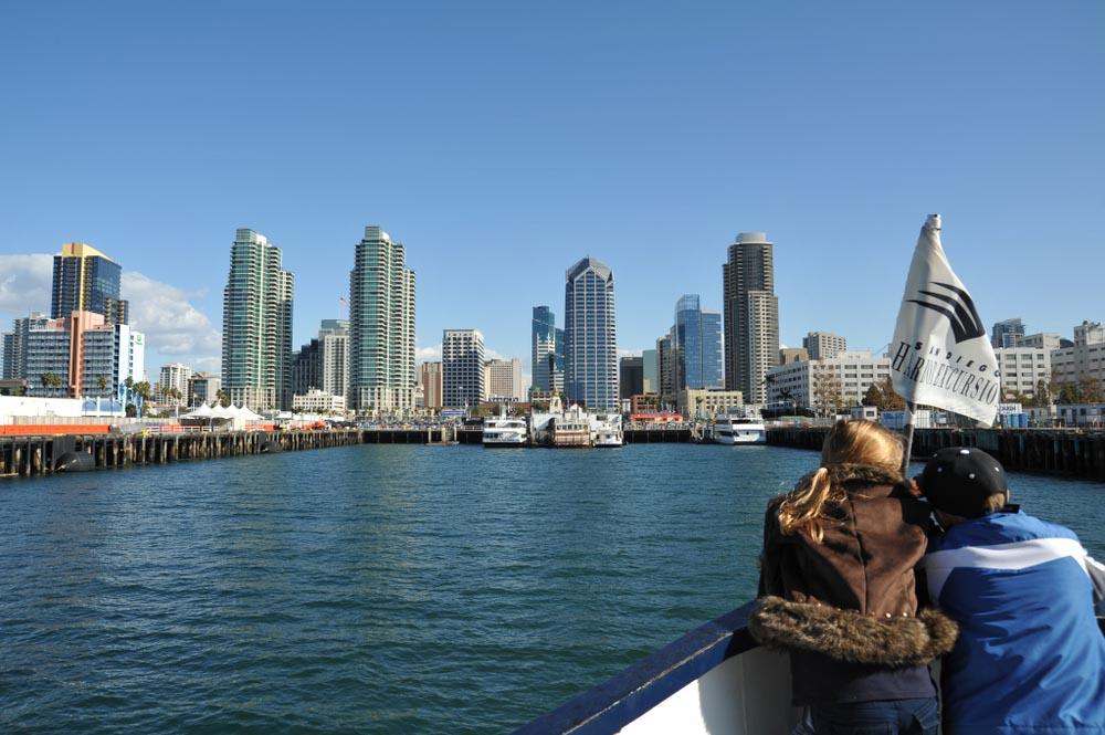 SAN DIEGO, CALIFORNIA USA Coronado ferry boat Embarcadero