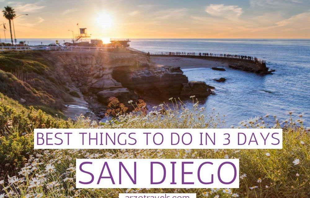 3-DaySan Diego Itinerary