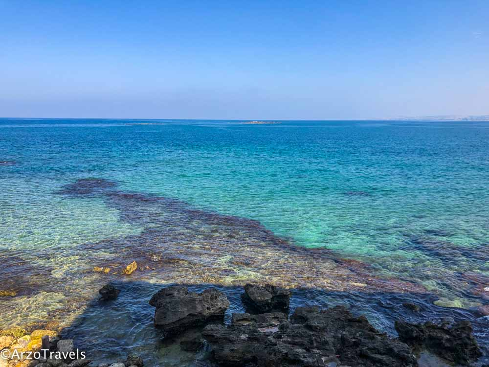 Beach in Tyre, Sour Lebanon
