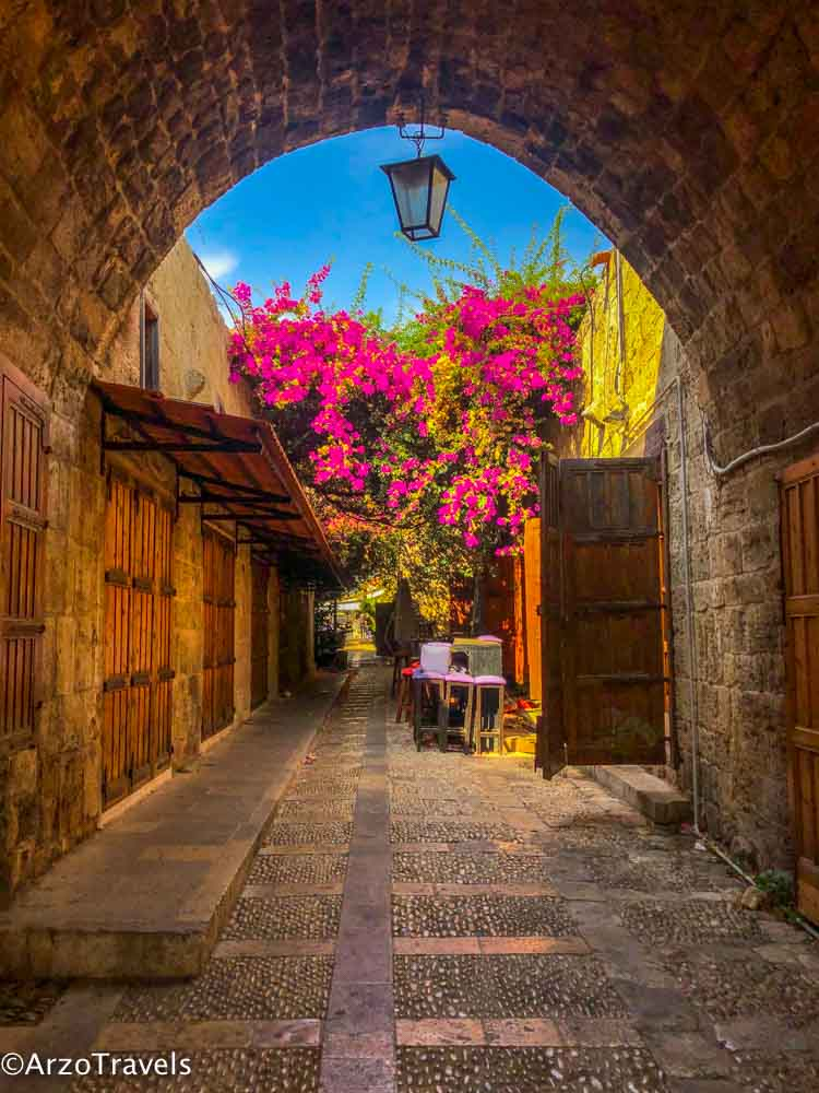 Byblos old town is one of the most beautiful places to see