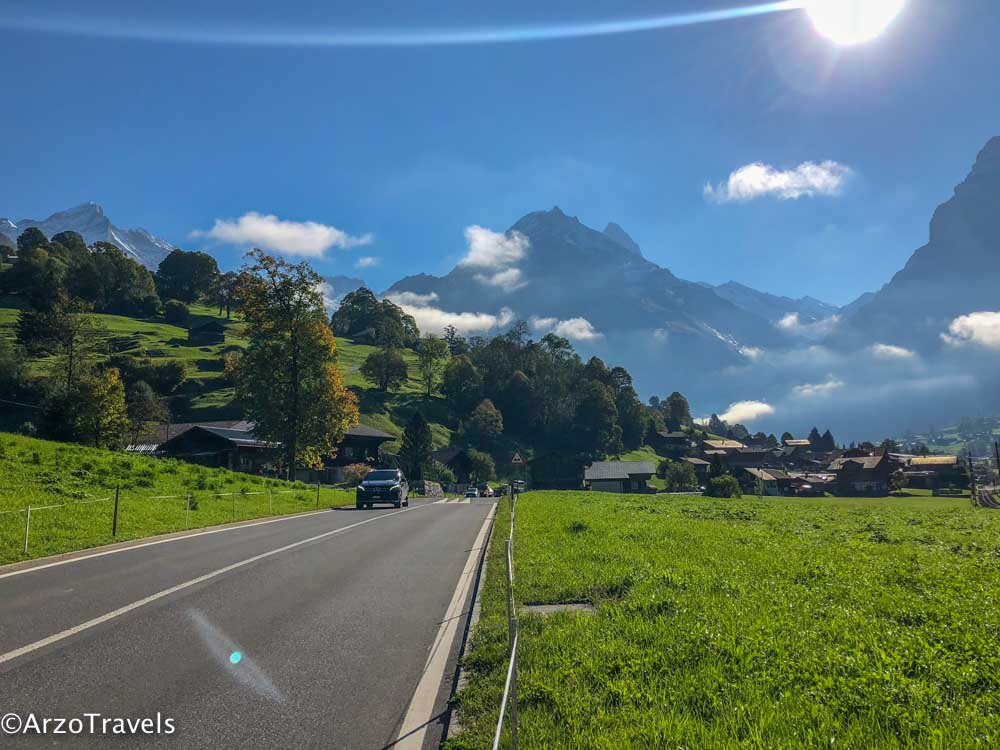 Driving travel tips in Switzerland