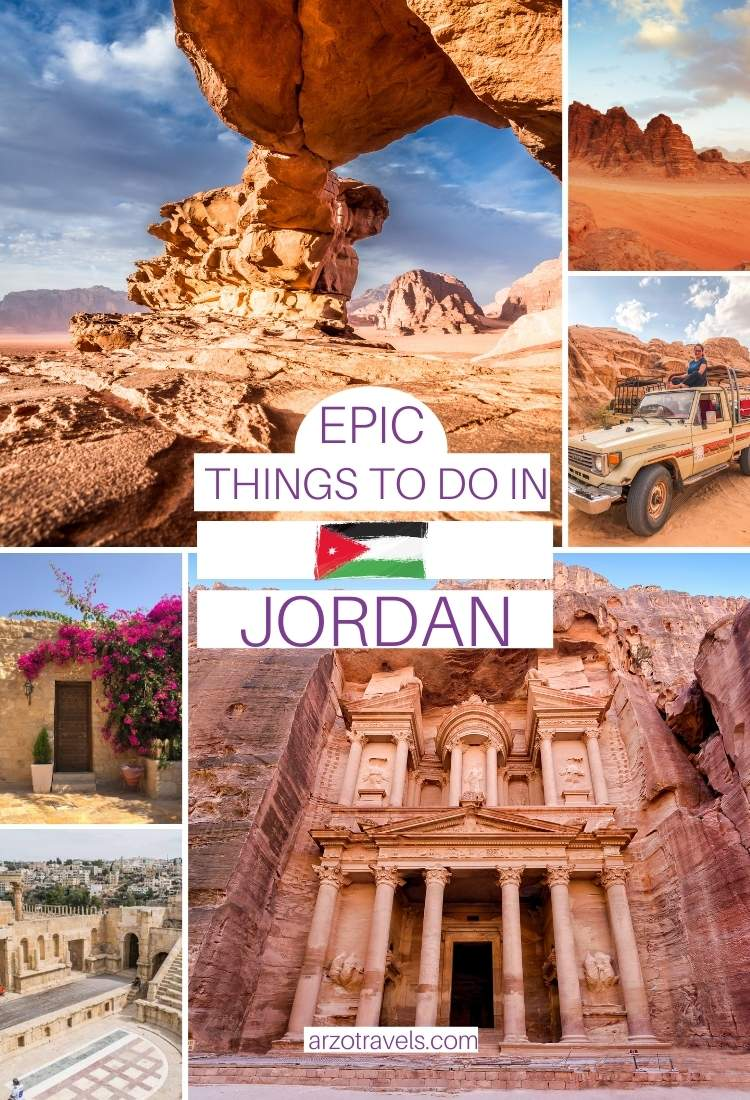 Epic things to do in Jordan, Middle East travel, Arzo Travels