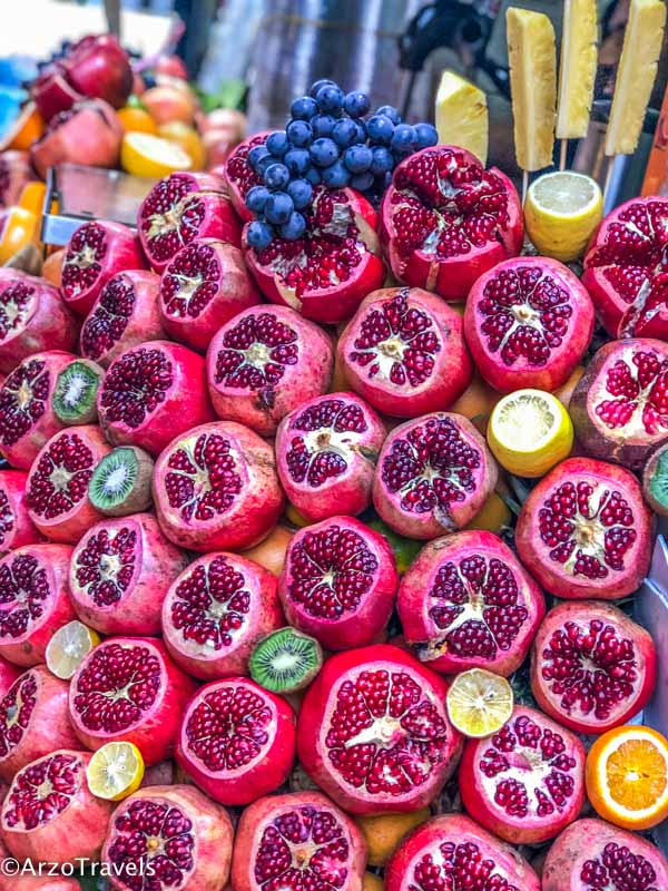 Fruits in Istanbul