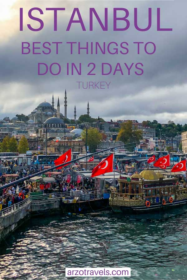 Istanbul itinerary for 2 days