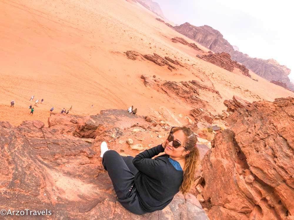Jordan, Wadi Rum solo travel