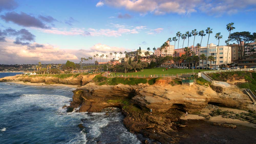 La Jolla, California is one of the best places to visit in 2 days