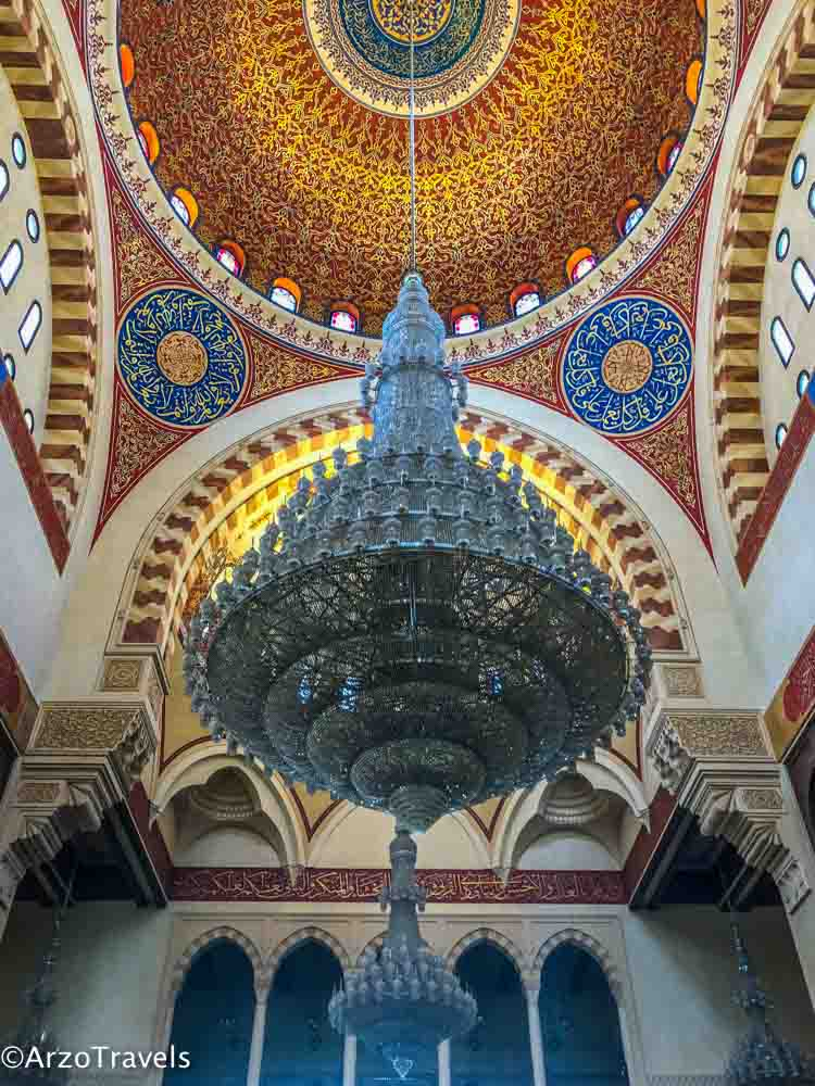 Lebanon mosque in Beirut