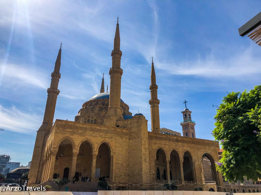 Mohammad Am Amin Mosque in Beirut