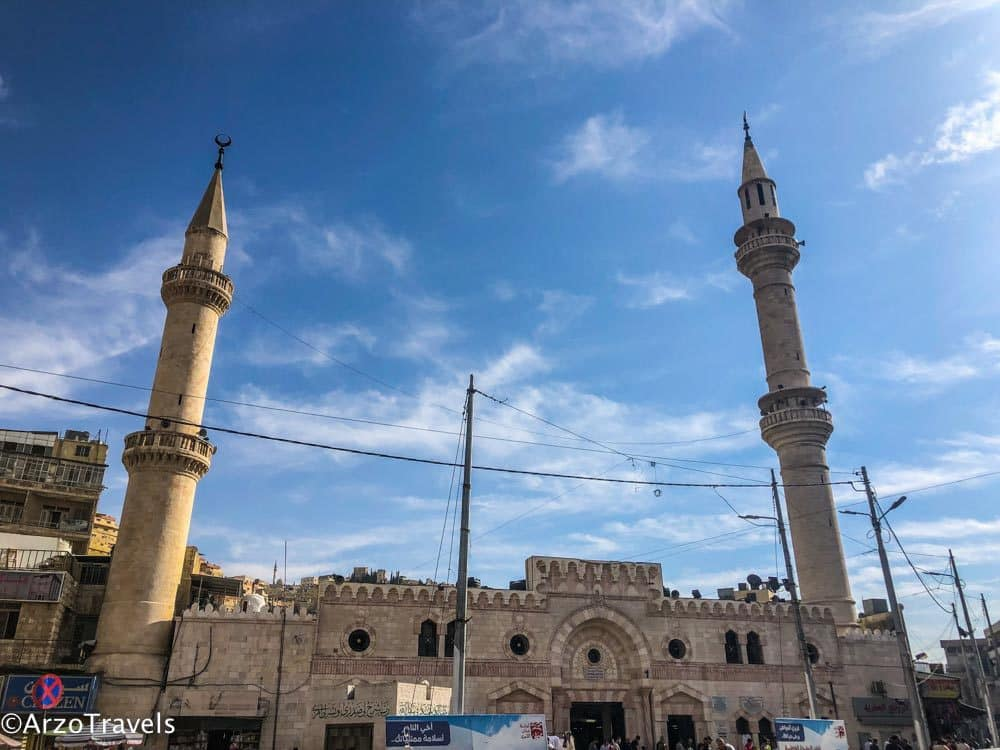 Mosque in Amman