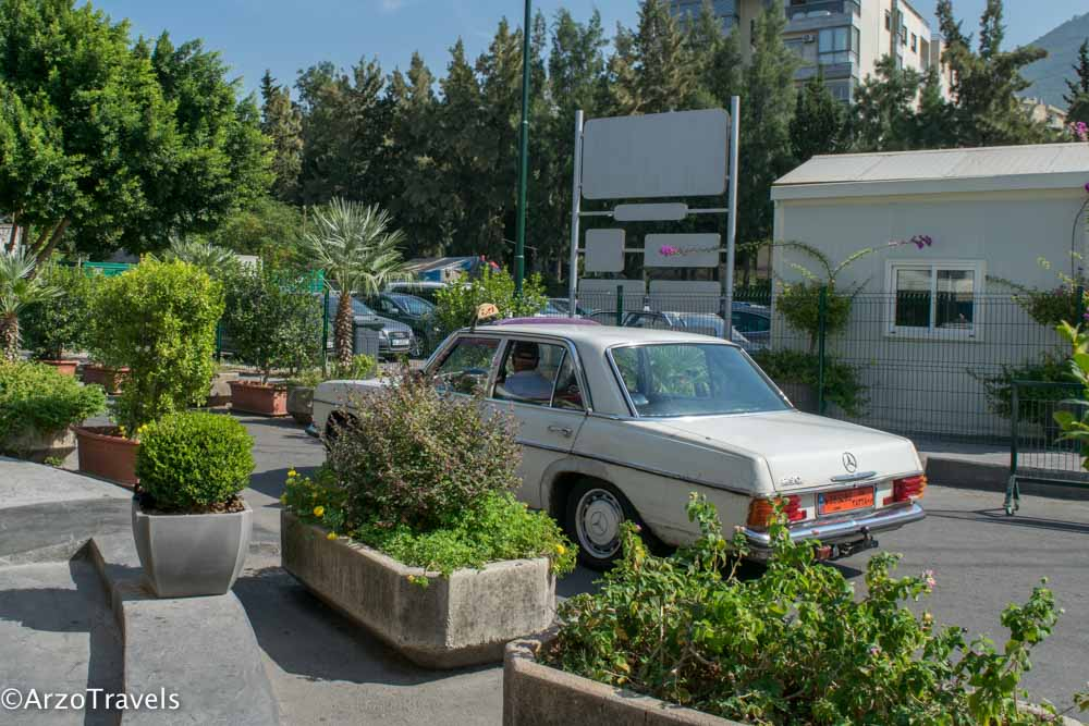 Old Taxi in Lebanon
