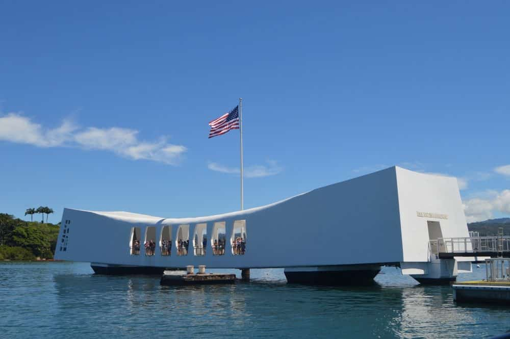 Pearl Harbor in Hawaii in 10 days