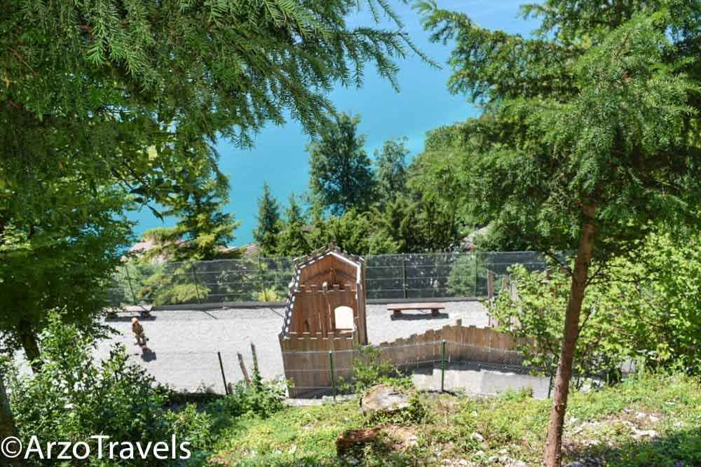 Playground at St. Beatus Caves in Switzerland, Arzo Travels