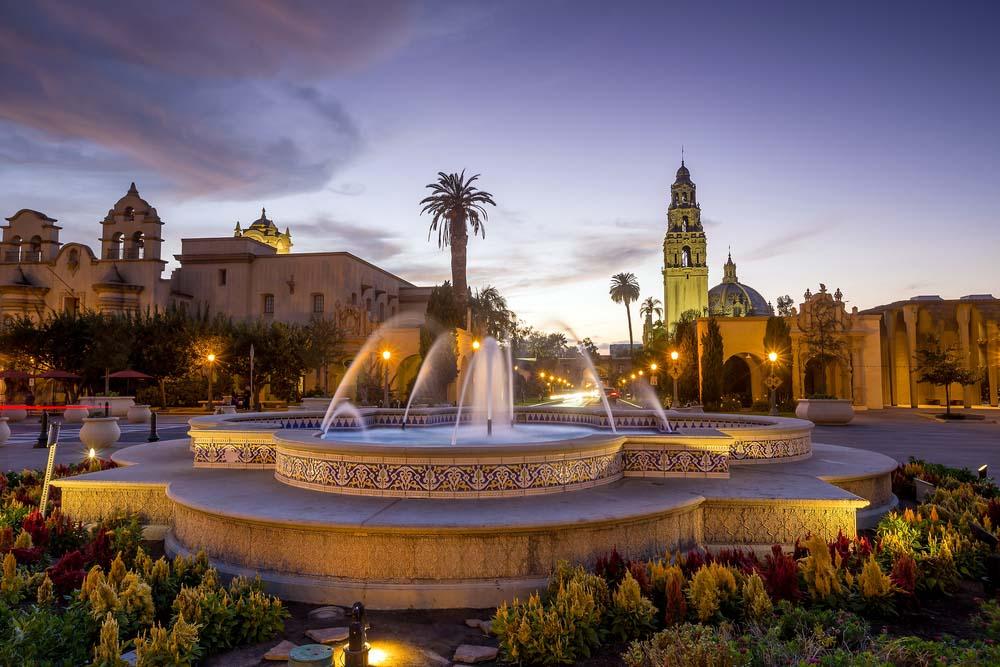 San Diego's Balboa Park in San Diego California USA