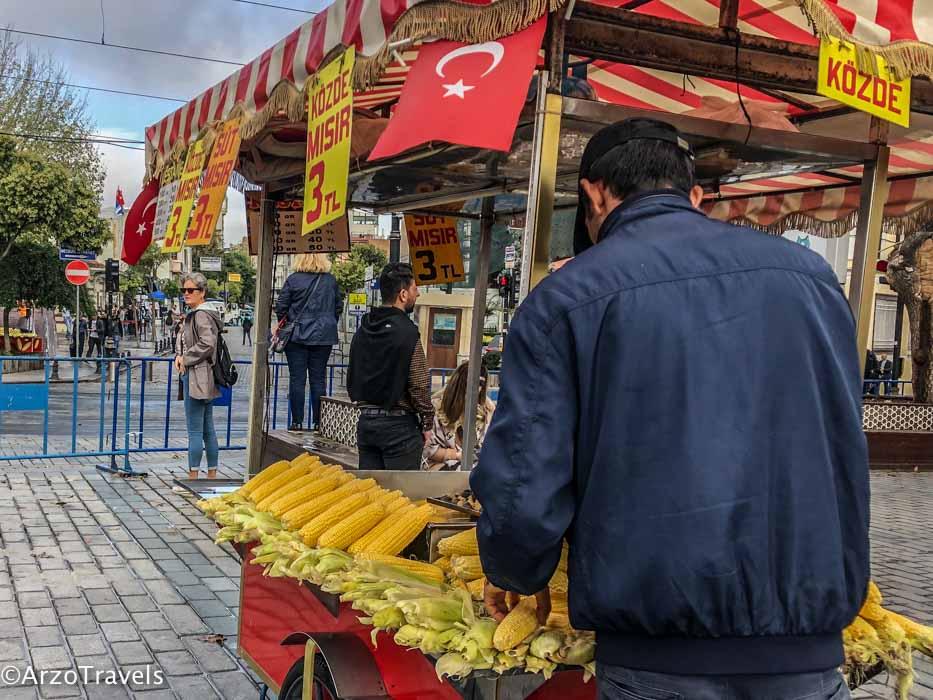Snacks in Istanbul