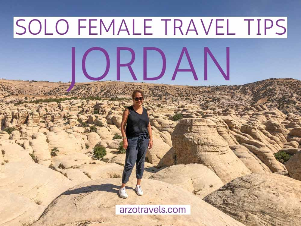 Solo Female Travel in Jordan